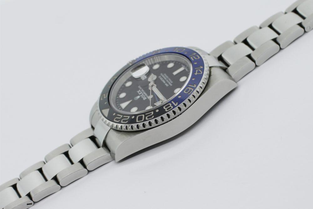 "Rolex Steel Ceramic GMT-Master II 116710BLNR ""Batman"" with Box & Card"