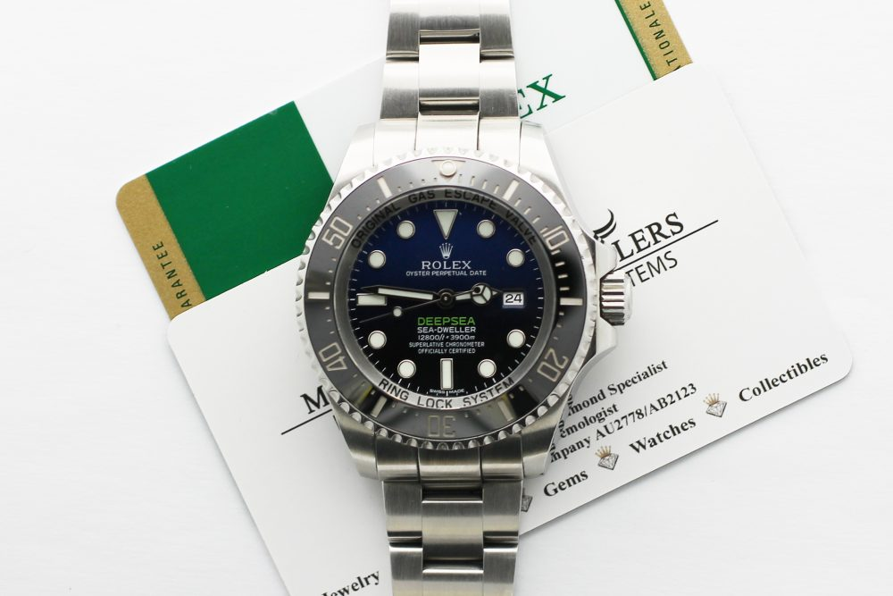 Rolex Steel Deepsea Sea-Dweller James Cameron 116660 Complete with Box, Booklets & Card