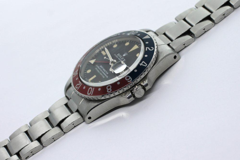 Vintage Rolex Steel GMT-Master 1675 2M Serial