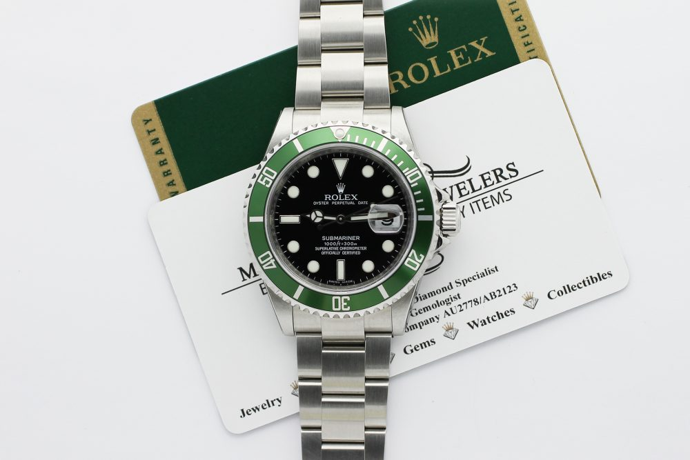 Rolex Steel Anniversary Submariner 16610T with Box & Paper (New with stickers)