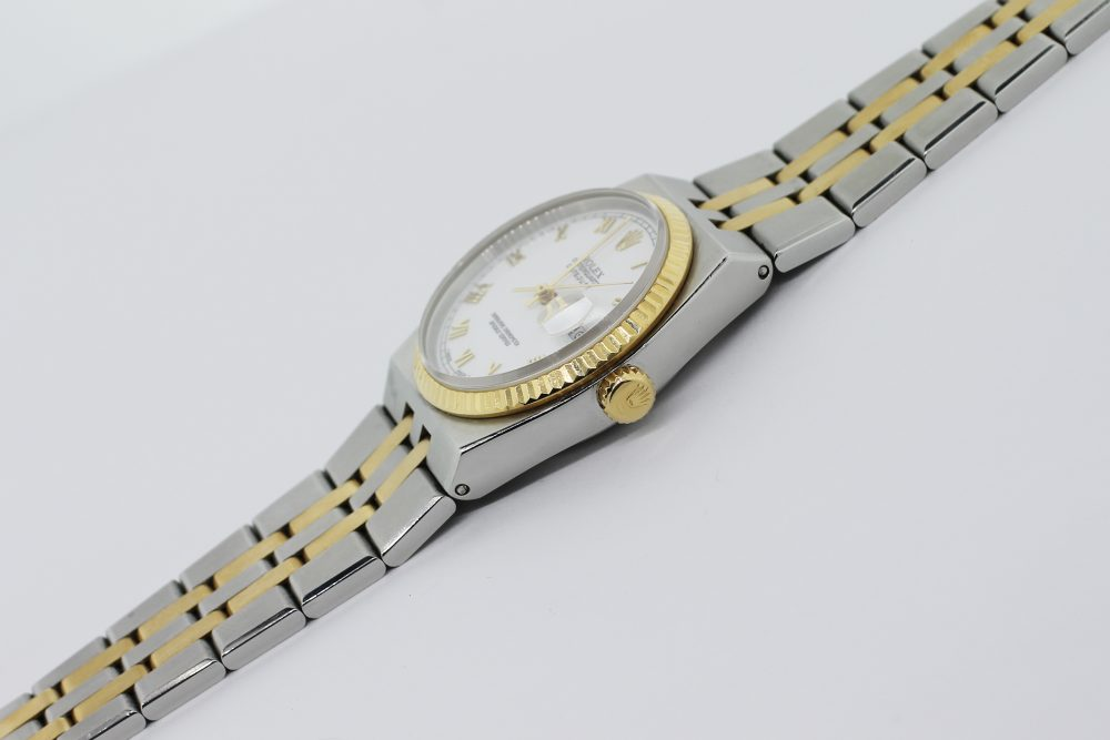 Rolex Steel & 18k Yellow Gold Oyster Quartz 17013 with Box & Booklets