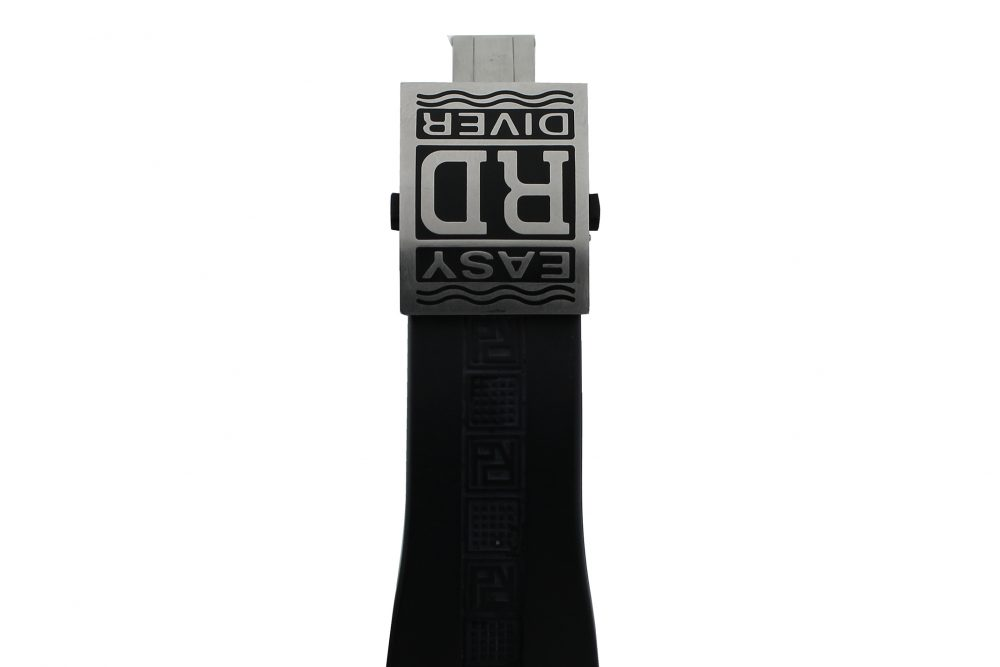 Roger Dubuis Steel Silver Dial Chronoexcel SED46-78-C9.N-CPG3.13R Easy Diver on Rubber Strap