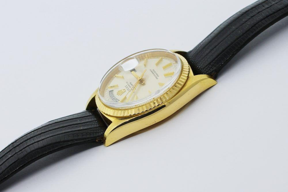 Rolex 18k Yellow Gold Day-Date 1803 with Box & Booklets