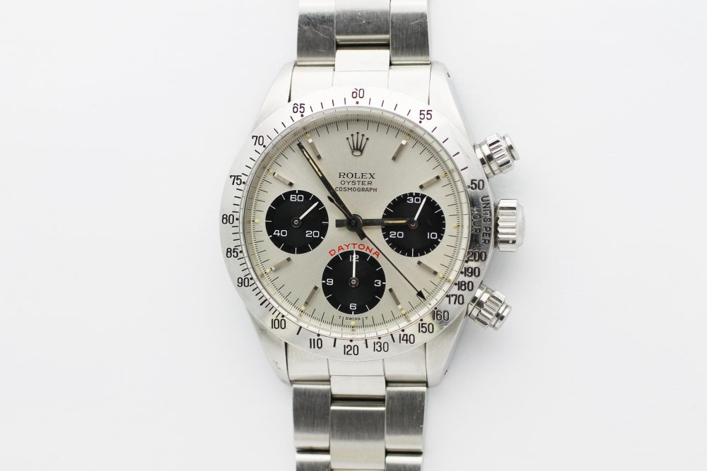 "Vintage Rolex Steel Daytona ""Big Red"" 6265"