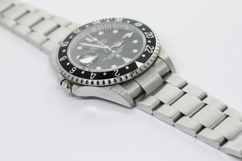 Rolex Steel GMT-Master II 16710 with Box & Booklets