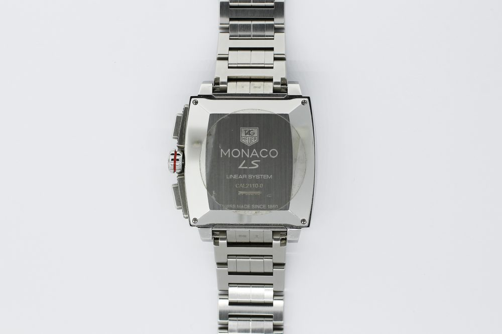 Tag Heuer Steel Monaco Calibre 12 on Bracelet with Box & Booklets