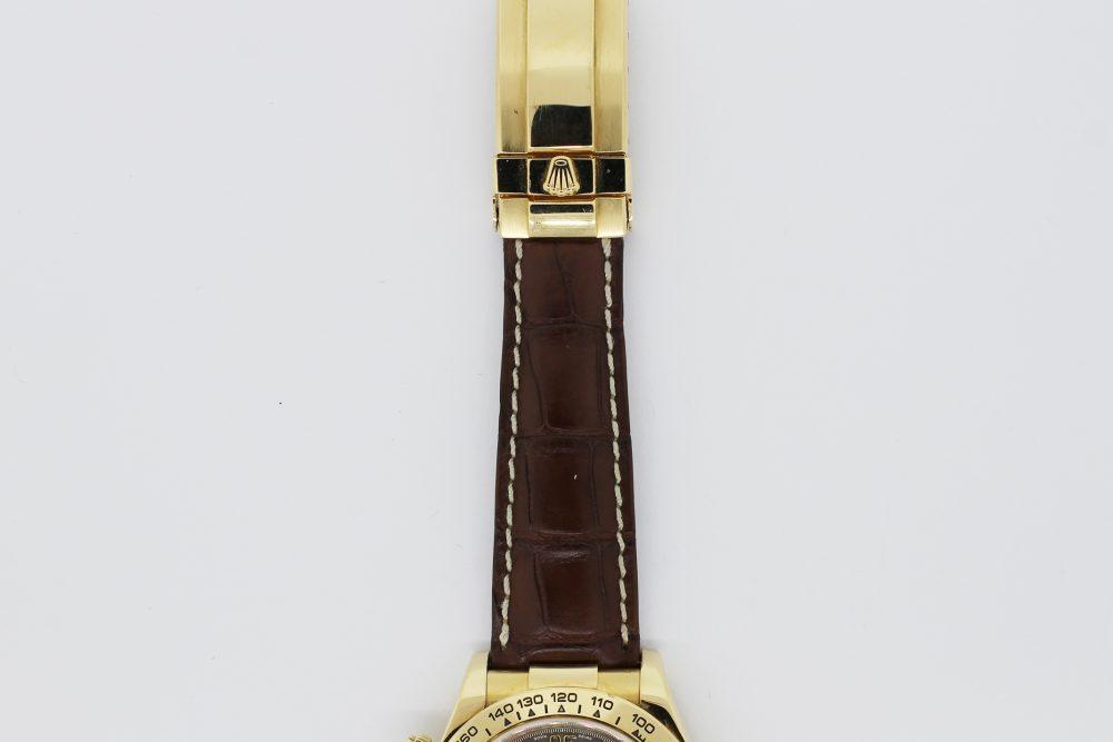 Rolex 18k Yellow Gold Daytona 116518 with Box & Booklets
