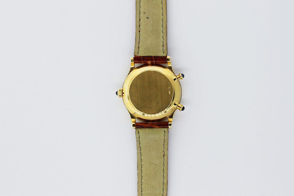 Patek Philippe 18k Yellow Gold 4865J Ladies Travel Time