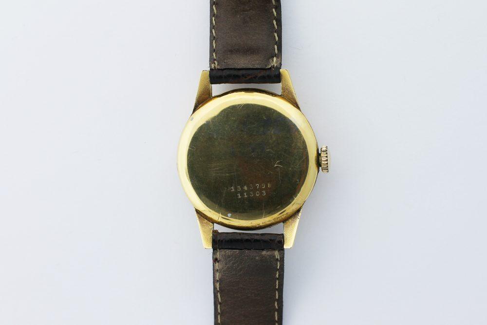 1930s Universal Geneve Full Calendar Moonphase Gold Filled