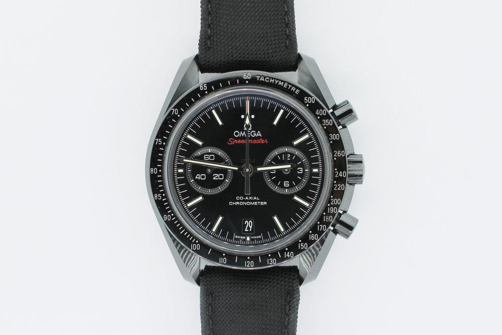 Omega Dark Side of the Moon Black Ceramic Speedmaster Black Dial Chronograph 311.92.44.51.01.003