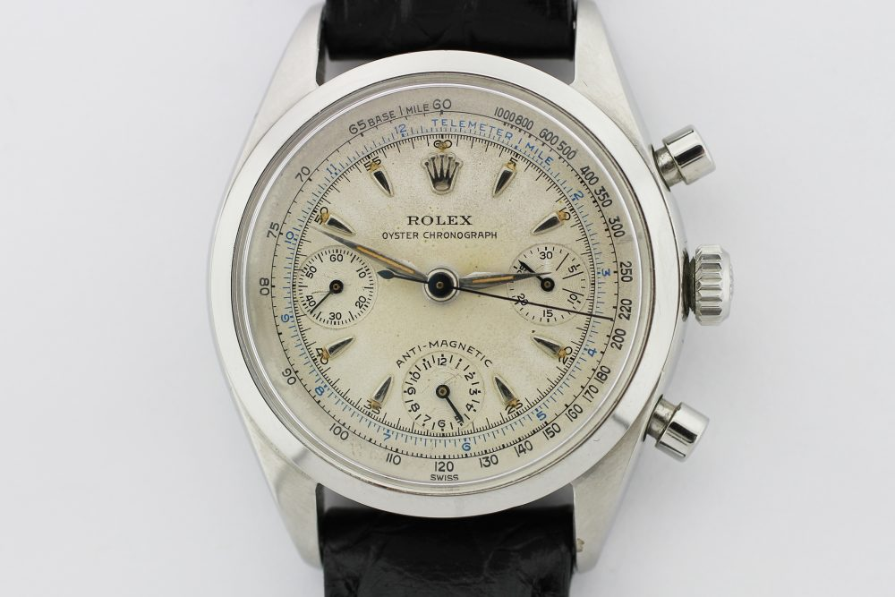 "Vintage Rolex Steel Chronograph ""Pre-Daytona"" 6234 with Box"