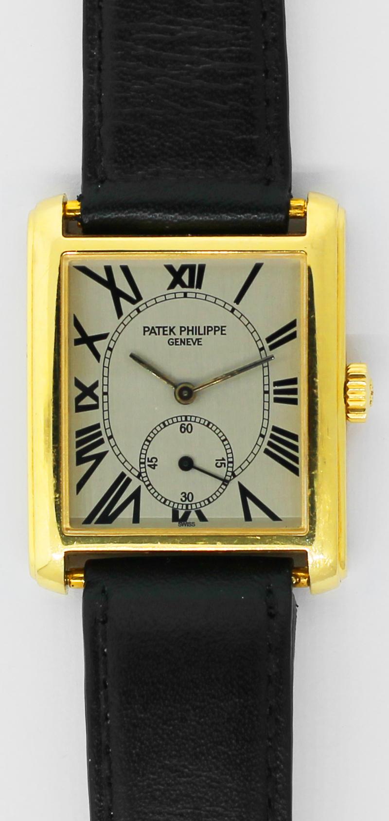 Patek Philippe 18k Yellow Gold 5014J Gondolo with Box & Booklets