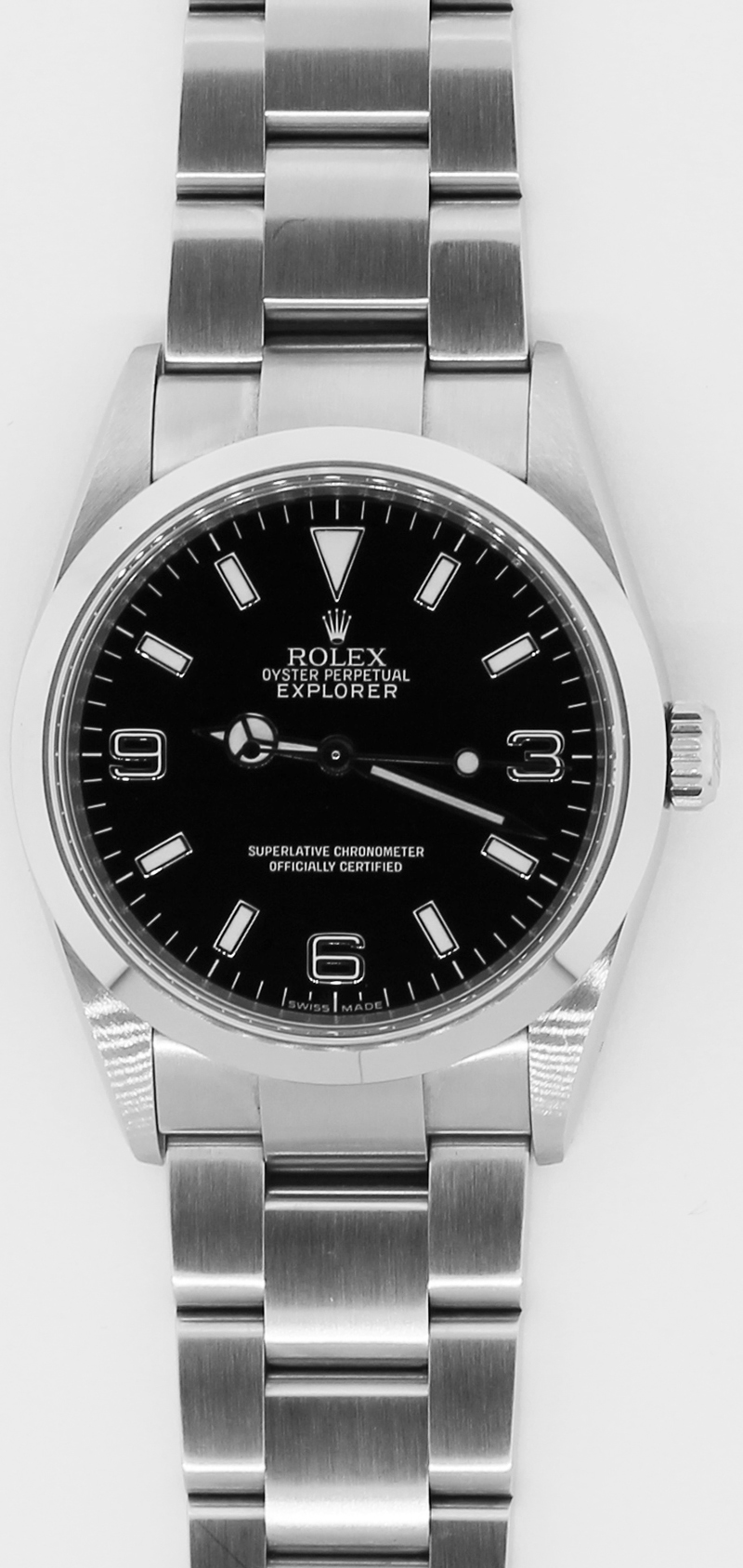 Rolex Steel Explorer 114270 with Box & Card