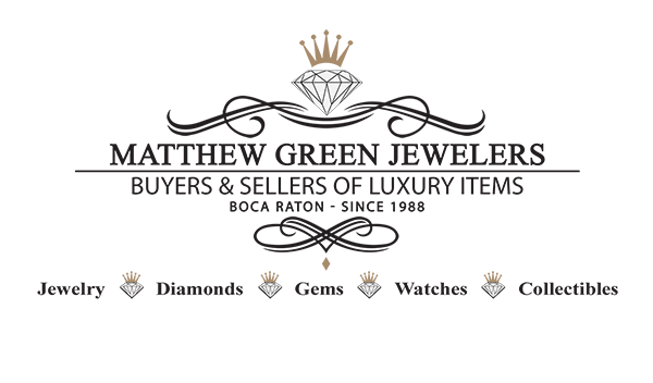 Matthew Green Jewelers : Buyers & Sellers of Luxury Goods Logo