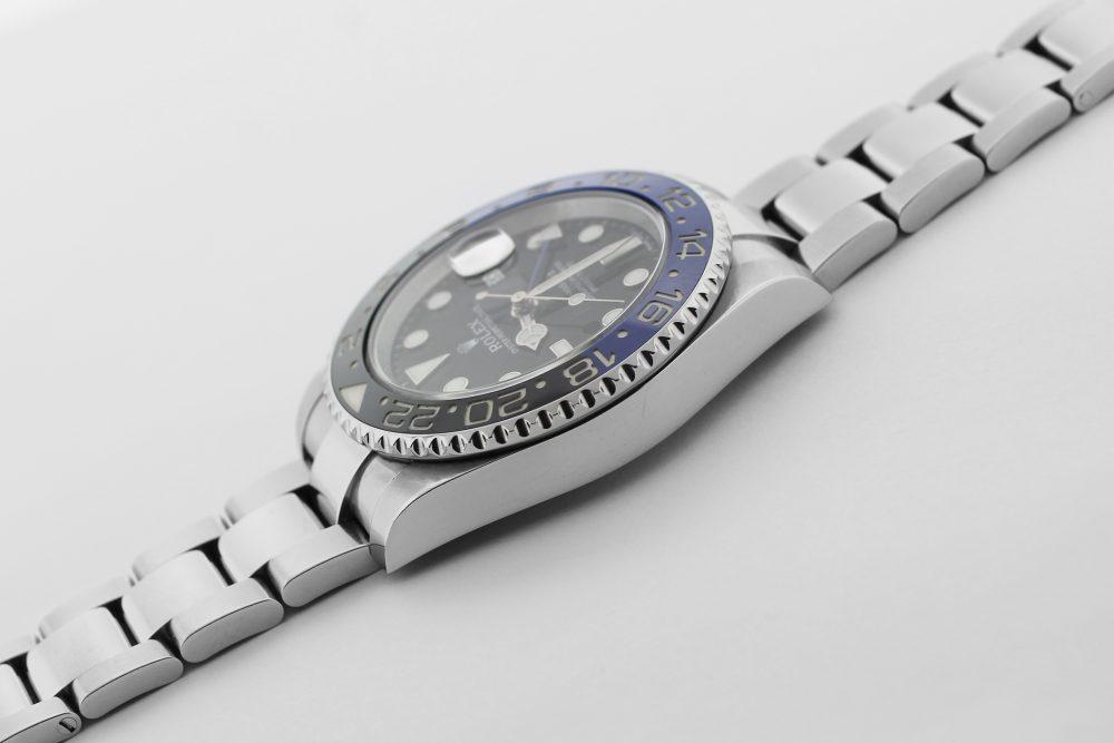 "Rolex Steel Ceramic GMT-Master II 116710BLNR ""Batman"" with Box & Booklets"