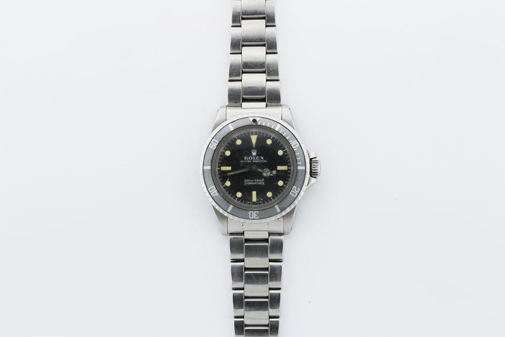 Vintage Rolex Steel Submariner 5513