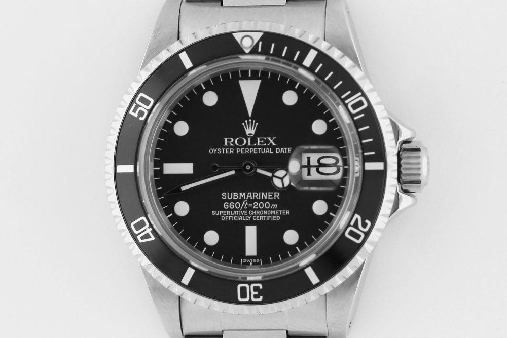 Vintage Rolex Steel Submariner 1680 Matte Dial on Oyster Bracelet