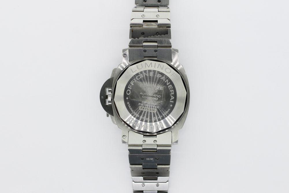 Panerai Steel Luminor Daylight Chronograph OP 6769 with Box & Booklets