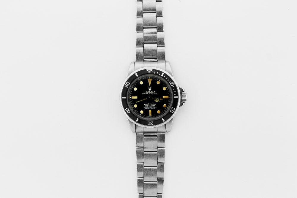 Vintage Rolex Steel Submariner 5512