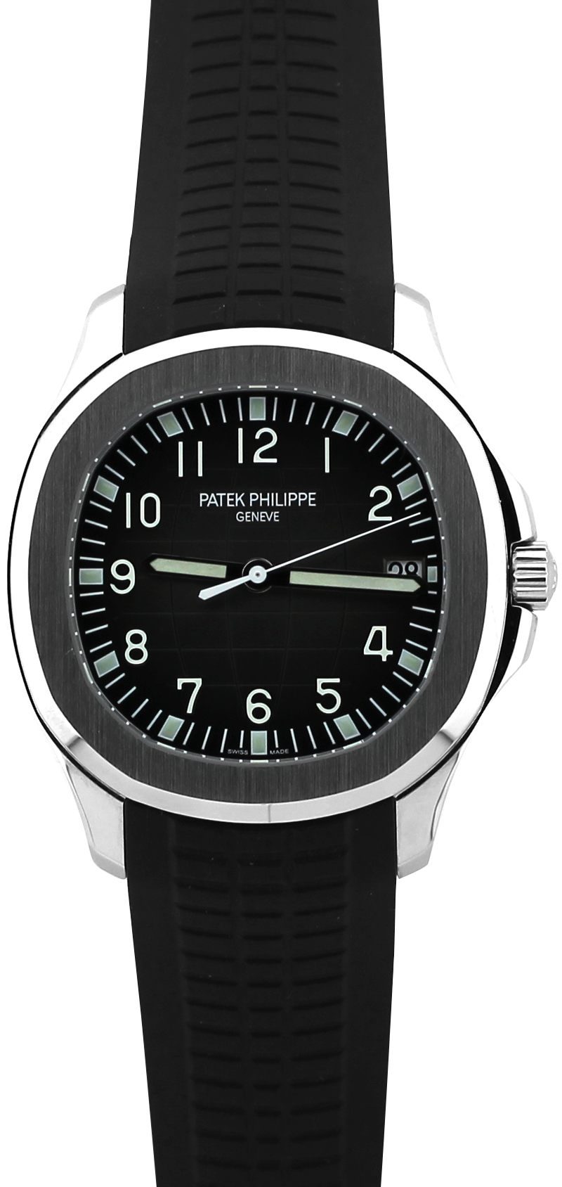 Patek Philippe Steel 5167A Black Dial Aquanaut with Box & Paper