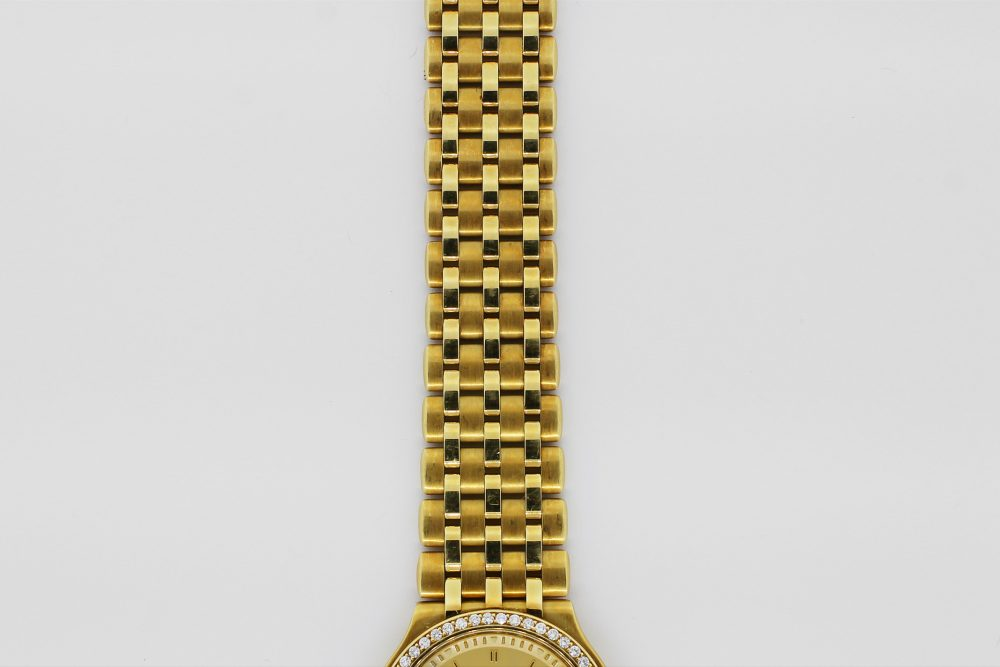 Chopard 18k Yellow Gold Automatic Date with Factory Diamond Bezel on a Bracelet
