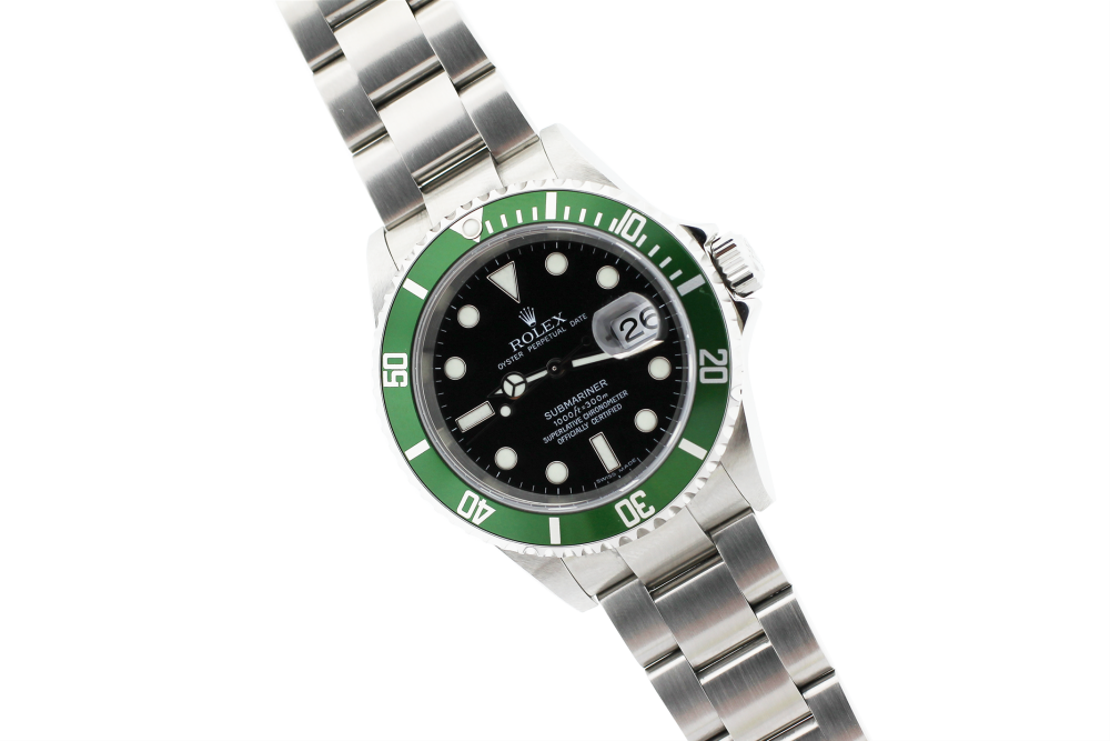 Rolex Steel Anniversary Submariner 16610T with Box & Paper