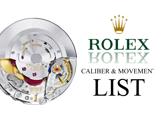 The Ultimate Rolex Caliber & Movement List