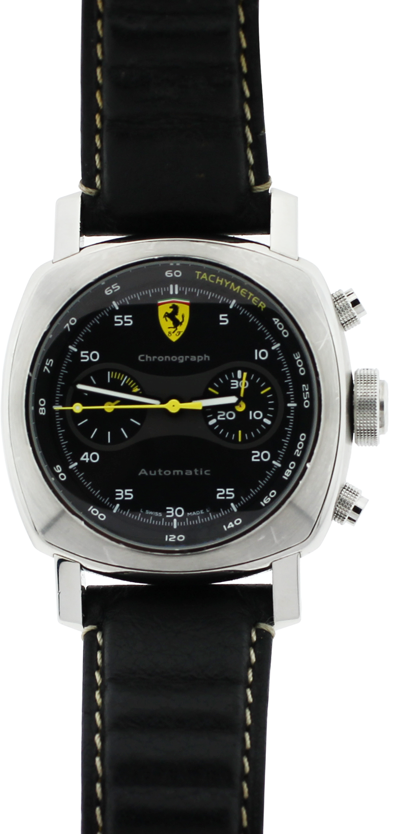Panerai Steel Limited to 800 Ferrari Chronograph OP F6656 with Box & Booklets