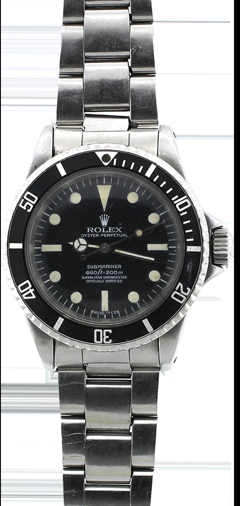 Vintage Rolex Steel Matte Dial Submariner 5513